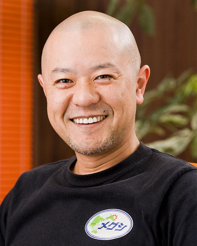 メグシ 代表取締役 江口敦士