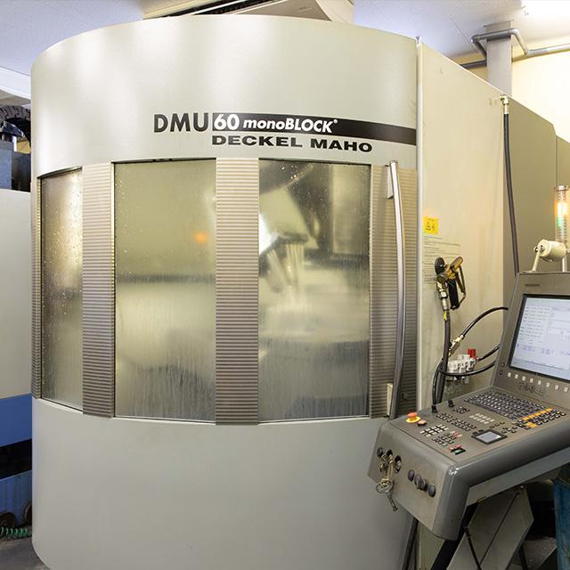 DMG5軸加工機